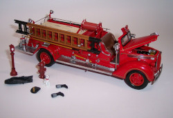 Franklin Mint 1938 Ford Fire Engine Die Cast