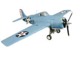 Franklin Mint Armour Collection F4F-4 Wildcat USS Ranger Red Rippers Die Cast Airplane