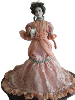 Franklin Mint Gibson Girl Mother of the Bride Doll