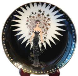 Franklin Mint House of Erte  - Royal Doulton Starstruck Collector Plate