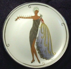 Franklin Mint House of Erte Diva II Collector Plate