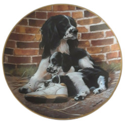 Franklin Mint Sole Mates by Nigel Hemming Collector Plate