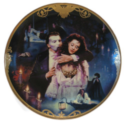 Franklin Mint Phantom of the Opera Collector Plate