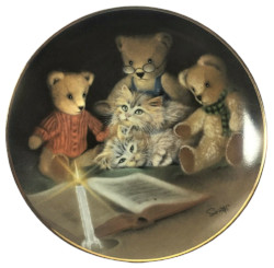 Franklin Mint Sue Willis Story Hour Collector Plate