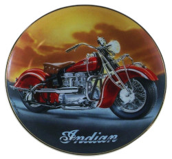 Franklin Mint Vintage Indian Motorcycles by William Teodecki  The 1942 Indian 442