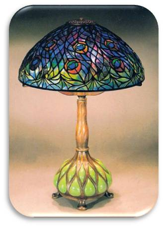 American Art Nouveau Glass Louis Comfort Tiffany And The